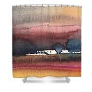 Nightfall 28 Shower Curtain
