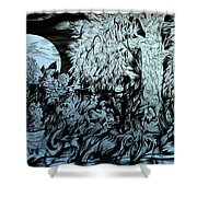 Nightingale Night Shower Curtain