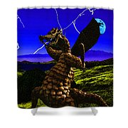 Nightmare After Midnight Shower Curtain