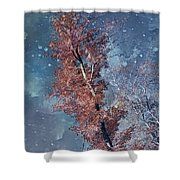 Nighty Tree Shower Curtain
