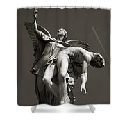 Nike Shower Curtain by RicardMN Photography