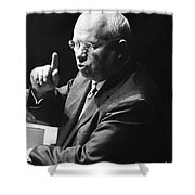 Nikita Khrushchev Shower Curtain