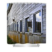 Nisqually Wildlife Refuge P18 The Barn Shower Curtain