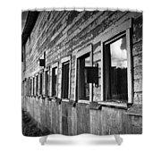 Nisqually Wildlife Refuge P18 The Barn II Shower Curtain