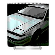 Nissan Pulsar Shower Curtain