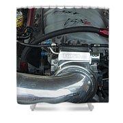 Nitrous Fuel Shower Curtain