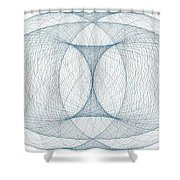 No Beginning No End Shower Curtain