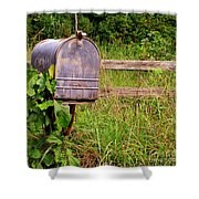No Mail Today Shower Curtain