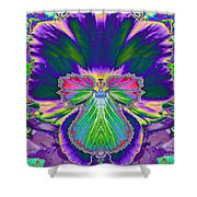 No Pansy Here Shower Curtain