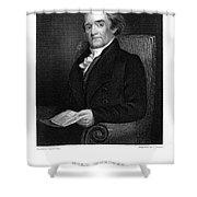 Noah Webster (1758-1843) Shower Curtain