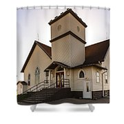 Noble Church Shower Curtain