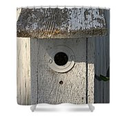 Nobody Home Shower Curtain
