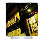 Nocturnal Nola Shower Curtain
