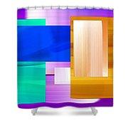 Nombre Abstrait 7 Shower Curtain
