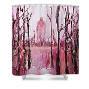 None Can Reach Heaven Who Has Not Passed Through Hell Shower Curtain