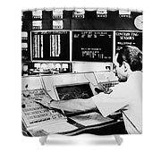 Norad Headquarters, 1979 Shower Curtain
