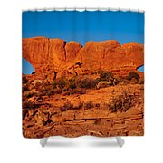 North And South Windows Shower Curtain