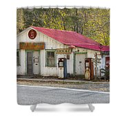 North Carolina Country Store And Gas Station Shower Curtain