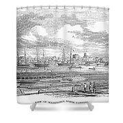 North Carolina: Wilmington Shower Curtain
