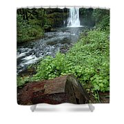 North Falls In Oregon Shower Curtain