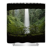 North Falls Oregon 2 Shower Curtain