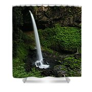 North Falls Oregon Shower Curtain