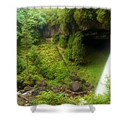 North Falls Waterfall Shower Curtain