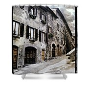 North Italy  Shower Curtain
