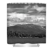 North Priest Lake II Shower Curtain