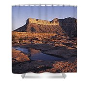 North Rim Toroweap,grand Canyon,arizona Shower Curtain