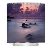 North Shore Breeze Shower Curtain