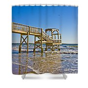 North Topsail Island Shower Curtain