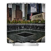 North Tower Memorial Shower Curtain