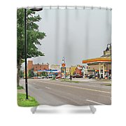 North Winooski Ave. Shower Curtain