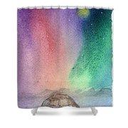 Northern Lights 4 Shower Curtain