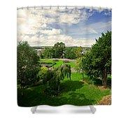Northernhay Gardens  Shower Curtain