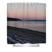 Northwest Evening Shower Curtain