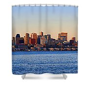Northwest Jewel - Seattle Skyline Cityscape Shower Curtain