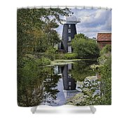 Norton Marsh Mill Norfolk Shower Curtain