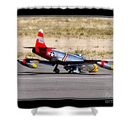 Nose Gear Trouble Shower Curtain