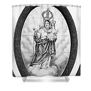 Nossa Senhora Da Paz Shower Curtain