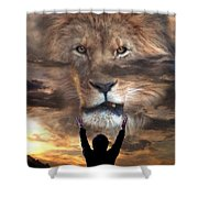 Not All Who Say Lord Lord Shower Curtain