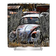 Not Herbie The Love Bug Shower Curtain