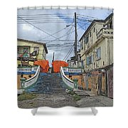 Not The Spanish Steps Shower Curtain