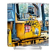 Nothing Runs Like A Deere Shower Curtain