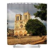 Notre Dame De Paris 2 Shower Curtain