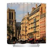 Notre Dame De Paris 3 Shower Curtain