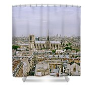 Notre Dame In Paris Shower Curtain