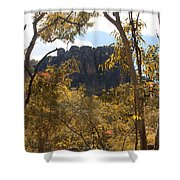 Nourlangie Rock Outlook Shower Curtain