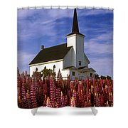 Nova Scotia Church Shower Curtain